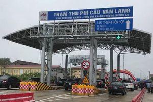 Chính thức thông xe đường Hòa Lạc - Hòa Bình và cầu Văn Lang nối Việt Trì - Ba Vì
