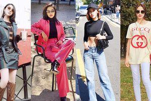 Hoa hậu Mỹ Linh, Jolie Nguyễn khoe street style du lịch 'sang chảnh', Khánh Linh, Hòa Minzy xúng xính hàng hiệu