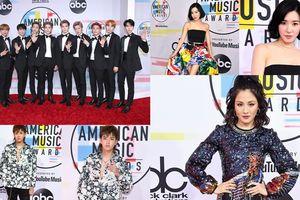 Sao Á tiếp tục 'càn quét' thảm đỏ American Music Awards 2018