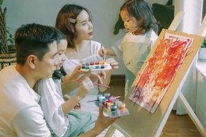 Lưu Hương Giang - Hồ Hoài Anh lần đầu khoe ảnh gia đình hạnh phúc đủ 4 thành viên