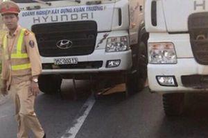Tài xế xe tải cướp giấy tờ, dàn xe chống đối CSGT bị xử phạt như thế nào?