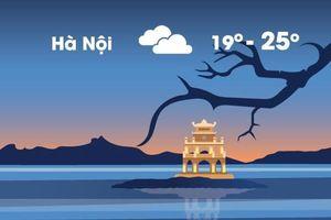 Thời tiết ngày 11/10: Hà Nội lạnh 19 độ, Sài Gòn nóng 34 độ C
