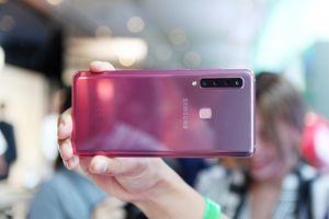 Chi tiết Galaxy A9 - smartphone đầu tiên có 4 camera sau