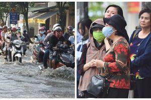 Nhiệt độ miền Bắc tiếp tục giảm, TP Hồ Chí Minh khốn đốn vì triều cường