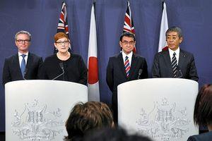 Australia, Nhật Bản cam kết 'liên thủ' ở Biển Đông