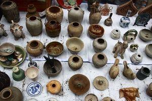Có trình độ đại học chuyên ngành trở lên mới được hành nghề mua bán di vật, cổ vật