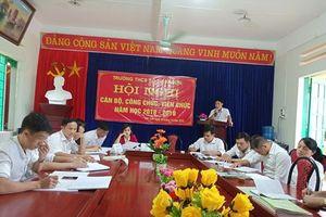 Lào Cai: Công đoàn Trường THCS số 1 Kim Sơn phối hợp tổ chức hội nghị CBCC