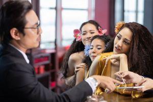 Sau An Nguy, Kiều Minh Tuấn tình tứ ôm hôn Bảo Anh