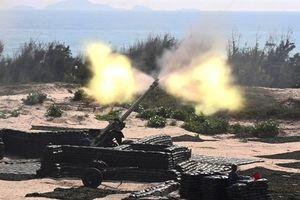 Vũ khí hạng nặng Việt Nam diệt mục tiêu trên biển