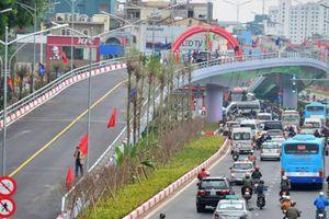 Hà Nội làm xong cầu vượt An Dương, các xe phải đi thế nào?