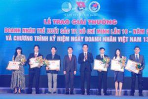Vinh danh 17 doanh nhân trẻ xuất sắc TP Hồ Chí Minh