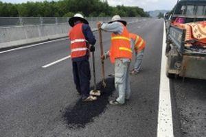 Hoàn thành khắc phục tình trạng hư hỏng mặt đường cao tốc Đà Nẵng - Quảng Ngãi