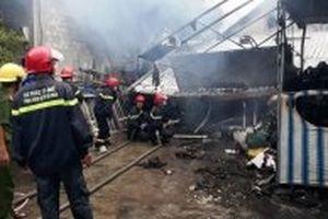 Cháy lớn thiêu rụi căn nhà, cụ bà 86 tuổi tử vong