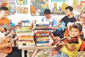 Thư viện 'ba không' của chàng sinh viên trẻ