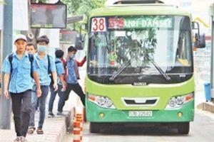 Kết nối giao thông công cộng bằng xe buýt mi-ni