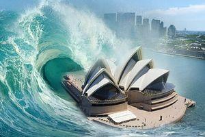 Sóng thần 'quái vật' 60 m có thể tấn công Úc bất cứ lúc nào