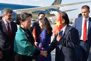 Chủ tịch Quốc hội thăm chính thức Thổ Nhĩ Kỳ