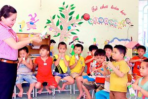 Thực hiện bài bản, chu đáo chương trình Sữa học đường