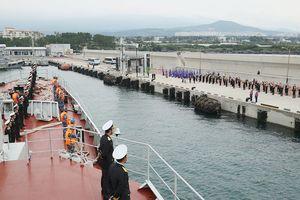 Chiến hạm 015-Trần Hưng Đạo thăm Hàn Quốc