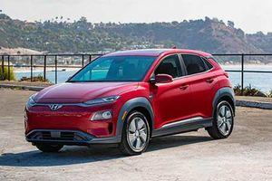 Xe ôtô điện Hyundai Kona mới chạy 415 km/1 lần xạc