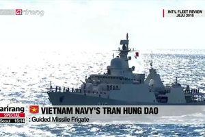 Hàn Quốc duyệt binh hải quân và bất ngờ đến từ Việt Nam
