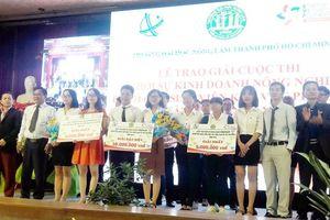 Dự án 'Trồng và phân phối mầm lúa mạch' giành giải Đặc biệt