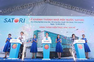Bà Lê Thị Vân Thảo, lãnh đạo Công ty Satori - giong thuyền tìm nguồn nước lành