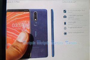 Nokia 3.1 Plus sắp ra mắt với màn hình 6 inch, camera kép phía sau