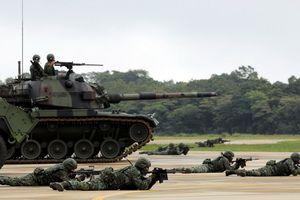 Đài Loan tăng ngân sách cho lực lượng phòng vệ để 'bảo vệ lãnh thổ'