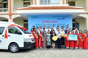 Trung tâm Y tế huyện Tứ Kỳ nhận xe ô tô cứu thương chất lượng cao