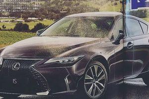 Lexus IS 2021 lộ bản thiết kế về một chiếc xe hạng sang