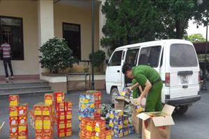 Lạng Sơn: Bắt giữ đối tượng vận chuyển trái phép 246 kg pháo lậu