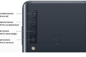 Xuất hiện ảnh chính thức Galaxy A9s với 4 camera độc đáo