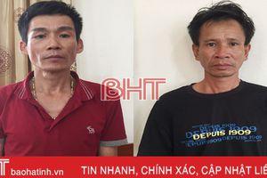 Trộm bò ở Quảng Bình, mang ra Hà Tĩnh tiêu thụ