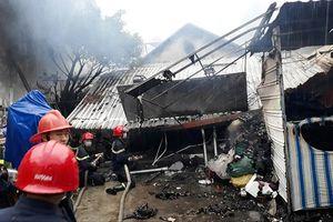 Cháy nhà giữa mưa lớn, một cụ bà thiệt mạng