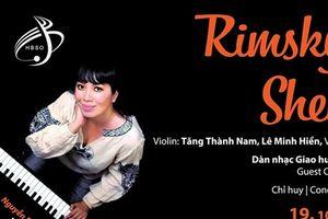 Nghệ sỹ piano Nguyễn Bích Trà trình diễn hòa nhạc 'Nghìn lẻ một đêm'
