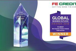 FE CREDIT được đánh giá 'Công ty tài chính tiêu dùng tốt nhất Đông Nam Á 2018'