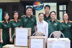 5 đơn vị quân đội thuộc Bộ Quốc phòng trao quà và tiền mặt ủng hộ Mottainai 2018