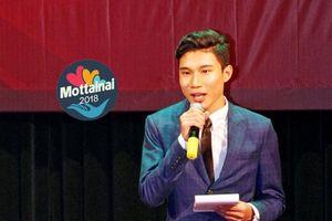 Lưu Quang Huy hào hứng khi cùng Lương Giang làm MC Ngày hội Mottainai 2018