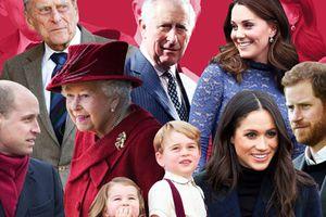 Hé lộ cách chọn tên đặc biệt của thành viên Hoàng gia Anh