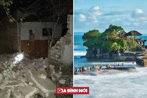 Động đất rung chuyển đảo thiên đường nghỉ dưỡng Indonesia, ít nhất 3 người thiệt mạng