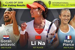 Li Na dẫn đầu cuộc đua vào Đài danh vọng quần vợt
