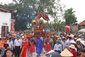 Vĩnh Phúc: Lễ hội rước kiệu xã Đại Đồng (Vĩnh Tường) sẽ diễn ra ngày 18/10
