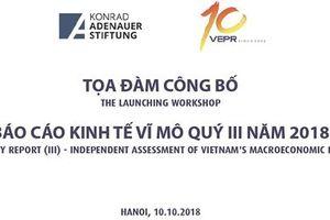 Tăng trưởng kinh tế Việt Nam 2018 sẽ vượt mục tiêu