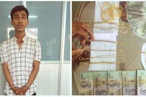 Bắt giữ nghi phạm trộm gần 100 lượng vàng