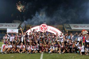 CLB Hà Nội thâu tóm các danh hiệu tại V-League 2018