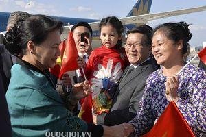 Chủ tịch Quốc hội Nguyễn Thị Kim Ngân gặp gỡ cán bộ, nhân viên đại sứ quán và cộng đồng người việt tại Thổ Nhĩ Kỳ