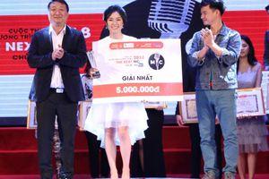 Nguyễn Minh Anh giành ngôi Quán quân cuộc thi 'The Next MC' năm 2018