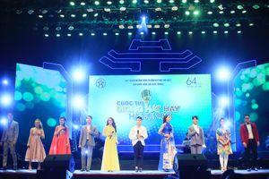 Nguyễn Thùy Liên giành giải Quán quân Giọng hát hay Hà Nội 2018