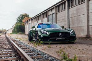 Mercedes-AMG GT S đẹp bí ẩn, công suất cực mạnh 'qua tay' Fostla